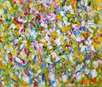 acryl op doek - 100 x 120